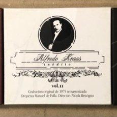 """CDs de Música: ALFREDO KRAUS """"INÉDITO"""" VOL. I, II Y III. 3 CAJAS. GRABACIÓN ORIGINAL DE 1975 REMASTERIZADA.. Lote 267203184"""