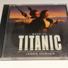 CDs de Música: W35- BSO TITANIC- CD DIS VG PORT VG. Lote 267238239