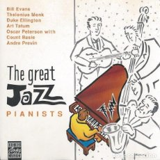CDs de Música: VARIOS - THE GREAT JAZZ PIANISTS. Lote 267243589