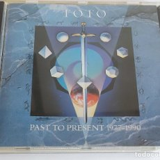 CDs de Música: TOTO / PAST TO PRESENT 1977-1990 / CD - CBS RECORDS-1990 / 13 TEMAS / IMPECABLE.. Lote 267264439