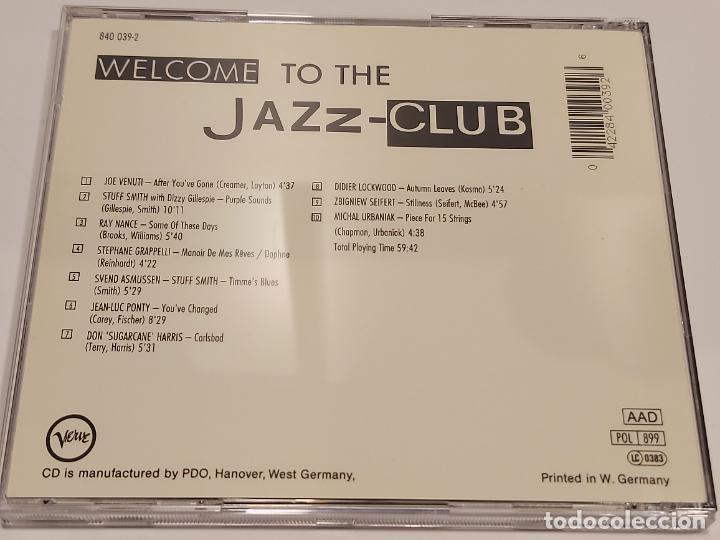 CDs de Música: JAZZ-CLUB / VIOLIN / VARIOS ARTISTAS / CD - VERVE RECORDS-1989 / 10 TEMAS / IMPECABLE. - Foto 3 - 267309834