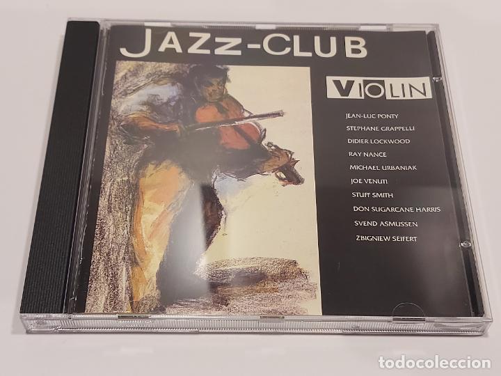 JAZZ-CLUB / VIOLIN / VARIOS ARTISTAS / CD - VERVE RECORDS-1989 / 10 TEMAS / IMPECABLE. (Música - CD's Jazz, Blues, Soul y Gospel)