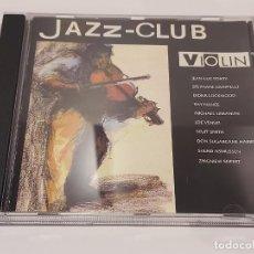 CDs de Música: JAZZ-CLUB / VIOLIN / VARIOS ARTISTAS / CD - VERVE RECORDS-1989 / 10 TEMAS / IMPECABLE.. Lote 267309834