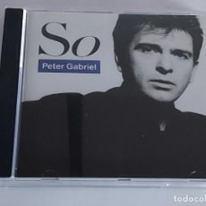 CDs de Música: PETER GABRIEL / SO / CD - VIRGIN-1986 / 9 TEMAS / IMPECABLE.. Lote 267378249