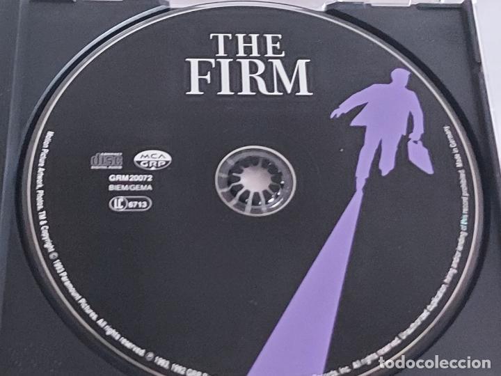 CDs de Música: B.S.O. / THE FIRM / DAVE GRUSIN / CD - GRP RECORDS-1992 / 13 TEMAS / IMPECABLE. - Foto 2 - 267379369