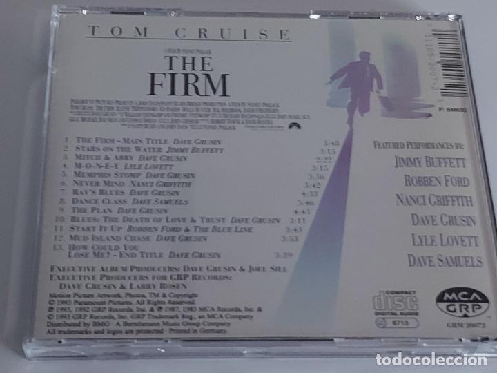 CDs de Música: B.S.O. / THE FIRM / DAVE GRUSIN / CD - GRP RECORDS-1992 / 13 TEMAS / IMPECABLE. - Foto 3 - 267379369