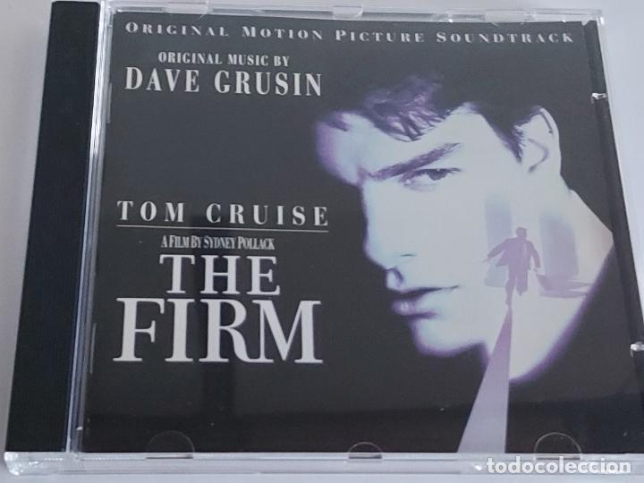 B.S.O. / THE FIRM / DAVE GRUSIN / CD - GRP RECORDS-1992 / 13 TEMAS / IMPECABLE. (Música - CD's Bandas Sonoras)
