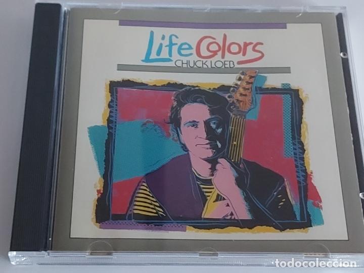 CHUCK LOEB / LIFE COLORS / CD - DMP-1990 / 11 TEMAS / IMPECABLE. (Música - CD's Rock)