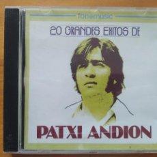CD de Música: CD 20 GRANDES EXITOS DE PATXI ANDION (CU). Lote 267401769