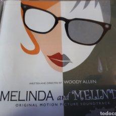 CDs de Música: MELINDA AND MELINDA BANDA SONORA. Lote 267458249