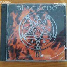 CDs de Música: CD BLACKEND - THE BLACK METAL COMPILATION VOL.3 - 2 DISCOS (CW). Lote 267477544