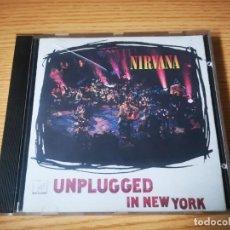 CDs de Música: CD DE NIRVANA - UNPLUGGED IN NEW YORK - EN BUENAS CONDICIONES | GEFFEN RECORDS |. Lote 267593269