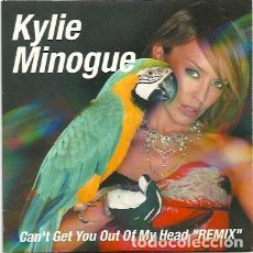 CDs de Música: KYLIE MINOGUE. CAN'T GET YOU OUT OF MY HEAD -- REMIX -- (CD SINGLE 2001). Lote 267638654