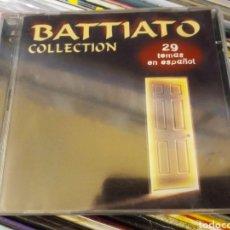 CDs de Música: 2 CD BATTIATO COLLECTION 29 TEMAS EN ESPAÑOL DESCATALOGADO Y MUY RARO. Lote 295643063