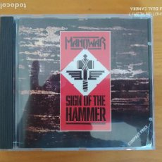 CDs de Música: CD MANOWAR - SIGN OF THE HAMMER (DO). Lote 267710984