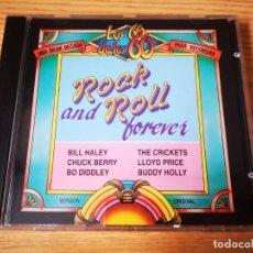 CDs de Música: CD DE LOS 60 DE LOS 60 - ROCK AND ROLL FOREVER - COMO NUEVO DISCO RECOPILATORIO   CIL  . Lote 267745604