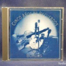 CDs de Música: ROCK'N'BORDES - CINCO AÑOS DE RECUERDOS - CD. Lote 267746454