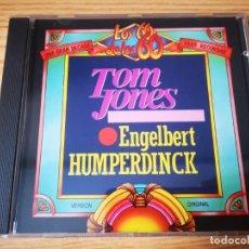 CDs de Música: CD DE LOS 60 DE LOS 60 - LO MEJOR DE TOM JONES Y ENGELBERT HUMPERDINCK - COMO NUEVO   CIL  . Lote 267749814