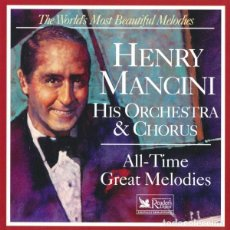 CDs de Música: HENRY MANCINI HIS ORCHESTRA & CHORUS - ALL-TIME GREAT MELODIES. Lote 267845924