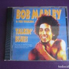 CD de Música: BOB MARLEY & THE WAILERS – TALKIN' BLUES - CD TUFF GONG ISLAND 1991 - REGGAE - SIN APENAS USO. Lote 267857554