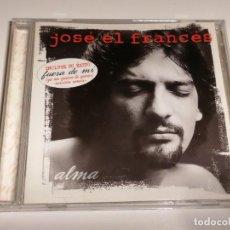 CDs de Música: JOSE EL FRANCES ALMA CD. Lote 267875724