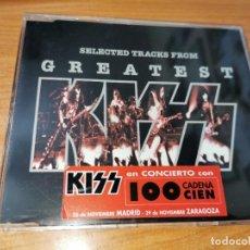 CDs de Música: KISS GREATEST CD SINGLE PROMOCIONAL PARA CADENA 100 PORTADA PLASTICO 1996 CONTIENE 3 TEMAS + VIDEO. Lote 267884774