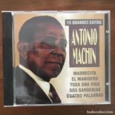 CDs de Música: ANTONIO MACHÍN - 15 GRANDES ÉXITOS - CD PROMO SOUND 1996. Lote 268145244