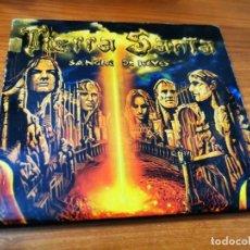 CDs de Música: TIERRA SANTA SANGRE DE REYES CD ALBUM DIGIPACK DEL AÑO 2001 CONTIENE 11 TEMAS HEAVY METAL ESPAÑOL. Lote 268157154