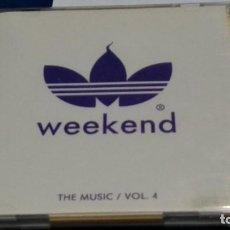 CDs de Música: CD DOBLE 2X CD PROMO (WEEKEND - THE MUSIC VOL 4)DEEJAYS: LUIS YANGUAS, THE MAE, ARMANDO VAZQUEZ &. Lote 268174799
