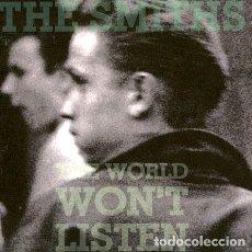 CDs de Música: CD-THE-SMITHS-THE-WORLD-WONT-LISTEN-. Lote 268188524