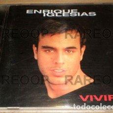 CDs de Música: ENRIQUE-IGLESIAS-VIVIR-CD-USA-A2-4-. Lote 268207379