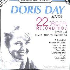 CDs de Música: DORIS-DAY-CD-SINGS-22-ORIGINAL-RECORDINGS-NUEVO-IMPORTADO-. Lote 268220329