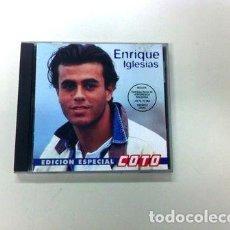 CDs de Música: ENRIQUE-IGLESIAS-EDICION-ESPECIAL-COTO-CD-ARGENTINA-RARE-97-. Lote 268222889
