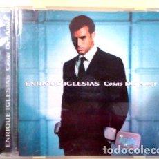 CDs de Música: ENRIQUE-IGLESIAS-COSAS-DEL-AMOR-1998-. Lote 268225194