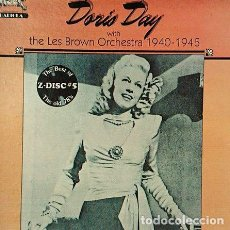 CDs de Música: DORIS-DAY-WITH-THE-LES-BROWN-ORCHESTRA-CD-MADE-IN-USA-1983-. Lote 268230749
