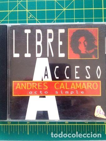 CD-ANDRES-CALAMARO-ACTO-SIMPLE-LIBRE-ACCESO- (Música - CD's Rock)