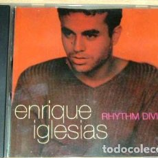 CDs de Música: ENRIQUE-IGLESIAS-RHYTHM-DIVINE-CD-SINGLE-AMERICANO-. Lote 268248879