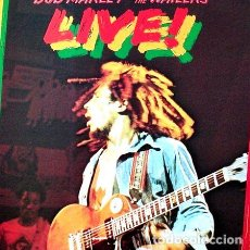 CDs de Música: CD-BOB-MARLEY-THE-WAILERS-LIVE-AT-THE-LYCEUM-. Lote 268249029