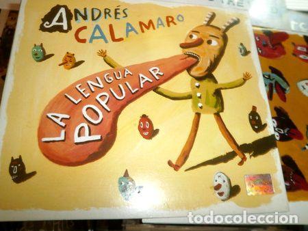 ANDRES-CALAMARO-CD-LA-LENGUA-POPULAR-CACHORRO-LOPEZ-ABUELOS- (Música - CD's Rock)