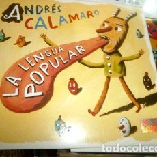 CDs de Música: ANDRES-CALAMARO-CD-LA-LENGUA-POPULAR-CACHORRO-LOPEZ-ABUELOS-. Lote 268249984