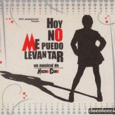 CDs de Música: HOY ME PUEDO LEVANTAR CD MUSICAL MECANO NACHO CANO PROMOCIONAL CORTE INGLES ¡¡ COMPLETO !! #. Lote 268273734