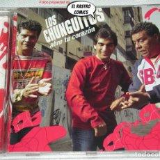 CDs de Música: LOS CHUNGUITOS, ABRE TU CORAZÓN, CD 2004, EXCELENTE ESTADO. Lote 268287449