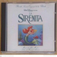 CDs de Música: B.S.O. LA SIRENITA - WALT DISNEY (BANDA SONORA EN ESPAÑOL) CD 1991. Lote 268299414