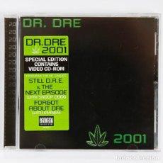 CDs de Música: DR. DRE - 2001 (22 TEMAS + 2 VÍDEOS). Lote 268407484