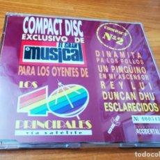 CDs de Música: DUNCAN DHU DINAMITA PA LOS POLLOS EL GRAN MUSICAL COMPACT Nº2 NUMERADO 543 CD MAXI SINGLE. Lote 268415979