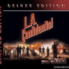 CDs de Música: L.A. CONFIDENTIAL 2CD - JERRY GOLDSMITH - BANDA DE SONIDO DE LA PELICULA. Lote 289506178