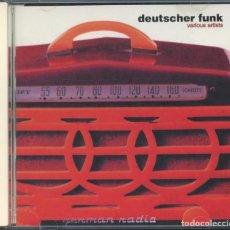 CDs de Música: VARIOUS – DEUTSCHER FUNK – CAIPIRINHA PRODUCTIONS, 1997 – CD. Lote 268467664