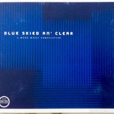 CDs de Música: BLUE SKIED AN' CLEAR. A MORR MUSIC COMPILATIONFUTURE 3.ISAN.LIMP.MANUAL. DOBLE CD DIGIPACK. Lote 268572394