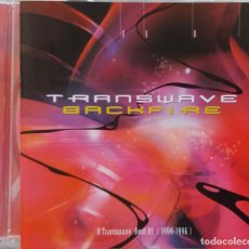CDs de Música: TRANSWAVE. BACKFIRE. A TRANSWAVE BEST OF 1994 1996. CD MADE IN EEC. Lote 268572634