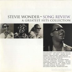 CDs de Música: STEVIE WONDER - SONG REVIEW: A GREATEST HITS COLLECTION. Lote 268581694